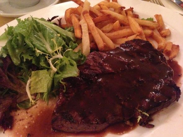 Cafe D'alsace Gluten-Free Steak Frites