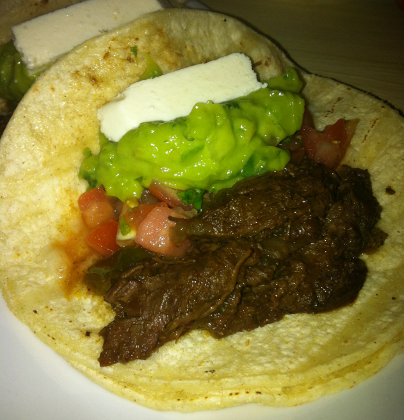 Gluten Free Steak and Queso Tacos
