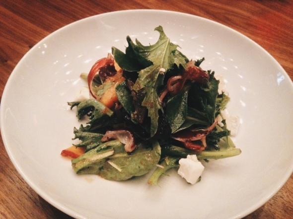 Gluten-Free Peach Salad