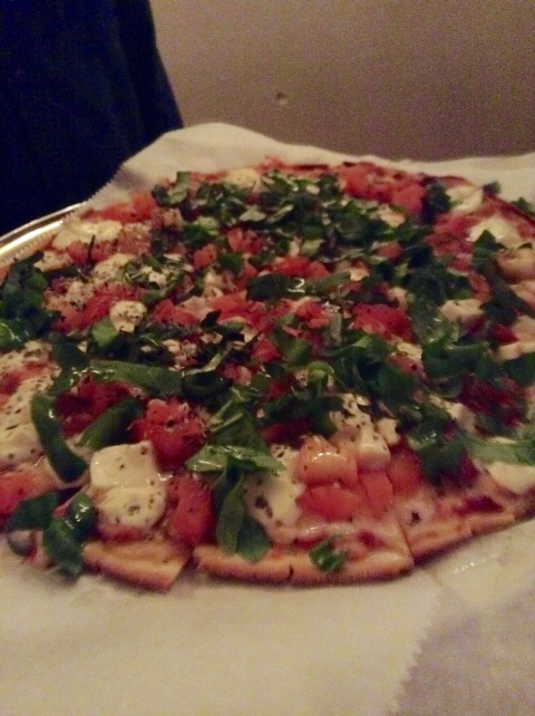 Pie by the Pound Gluten-Free Caprese Pizza