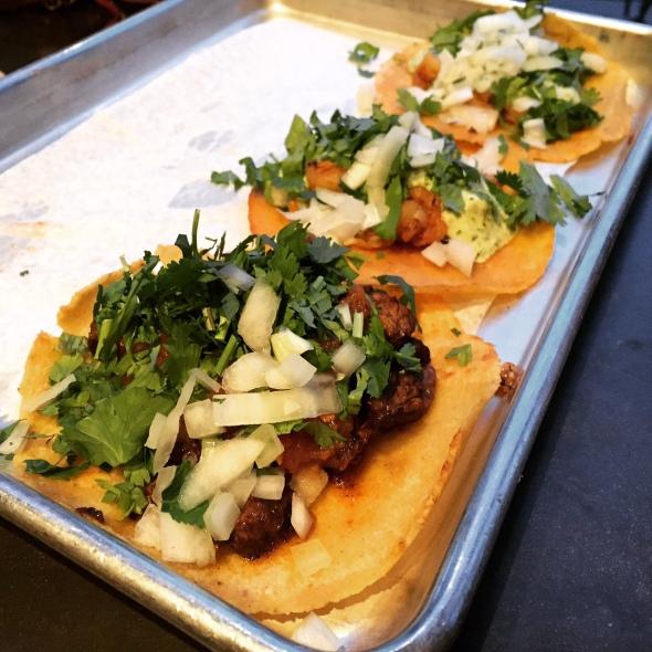 Gluten-Free Tacos - Shrimp and Carne