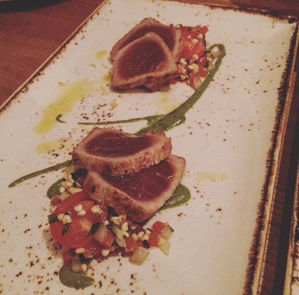 Little Beet Table Gluten Free Seared Tuna